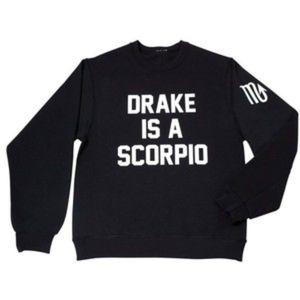 Private Party Drake Scorpio Sweatshirt Medium